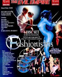 cover art for the dvd case of the porn film Fashionistas