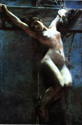 image of the fine art painting entitled Mondschein painted by Albert Von Keller