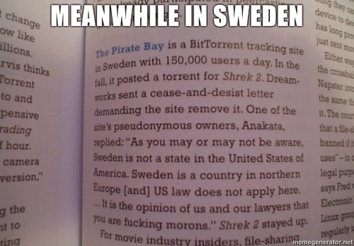 swedish response to U.S. intellectual property law